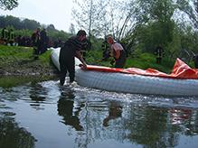 Hochwasserschutz mit Mobildeich