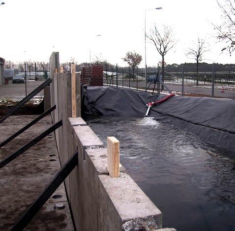 Hochwasserbarriere