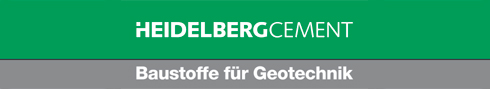 HeidelbergCement GmbH & Co. KG Baustoffe für Geotechnik