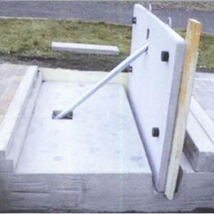 Hochwasserbarriere Expert-Bau